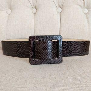 Betsy Johnson Brown Belt